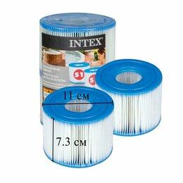 """Фильтры, насосы и хлоргенераторы - Картридж для фильтра """"S1"""" 2 шт, Intex, 0"""