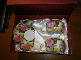 Кружки, блюдца и пары - Подарочный набор посуды, 0