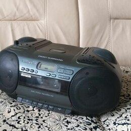 Музыкальные центры,  магнитофоны, магнитолы - Бумбокс aiwa, 0