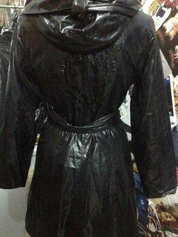 Пальто - Пальто на тонком синтепоне, черное42-44, 0