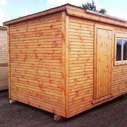 Готовые строения - Бытовка деревянная хозблок А-431, 0