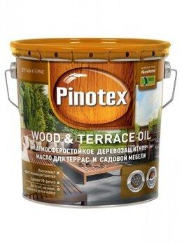 Масла и воск - Pinotex Wood Oil &Terrace Oil, 0