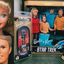 Куклы и пупсы - Набор Барби и Кен Стар Трек, 0