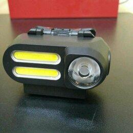 Фонари - Налобный фонарь аккумуляторный YB-1071, 0