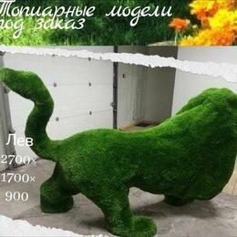 Садовые фигуры и цветочницы - Изготовление топиарных фигур, 0