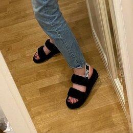 Сандалии - Меховые сандалии UGG, 0