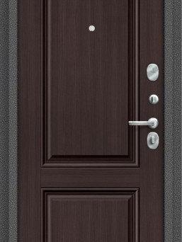 Входные двери - Дверь входная S 104.К32 Антик Серебро/Wenge…, 0