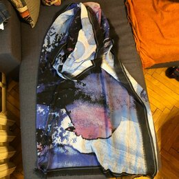 Шарфы и платки - Женский шарф из тонкой шерсти, 0