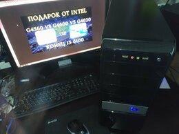 Настольные компьютеры - 7 поколение intel 4x3,60 ГГц 4гб DDR4 HDD 320gb, 0