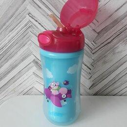 Бутылочки и ниблеры - Поильник с трубочкой, термочашка, 0