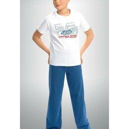 Домашняя одежда - BNTP431 пижама для мальчиков (8,9,10,11 White), 0