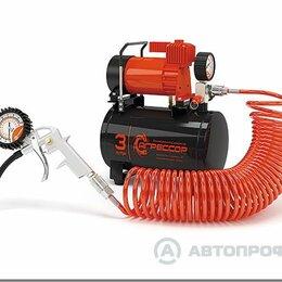 Воздушные компрессоры - компрессор  АГРЕССОР с ресивером на 3л  1/2, 0