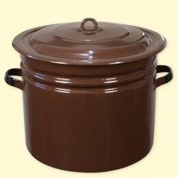 Кастрюли и ковши - Бак эмалированный 40 литров, 0