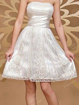 Платья - Новое мини свадебное платье, 0