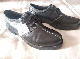 Ботинки - Полуботинки женские чёрные кожаные, размер 39....., 0