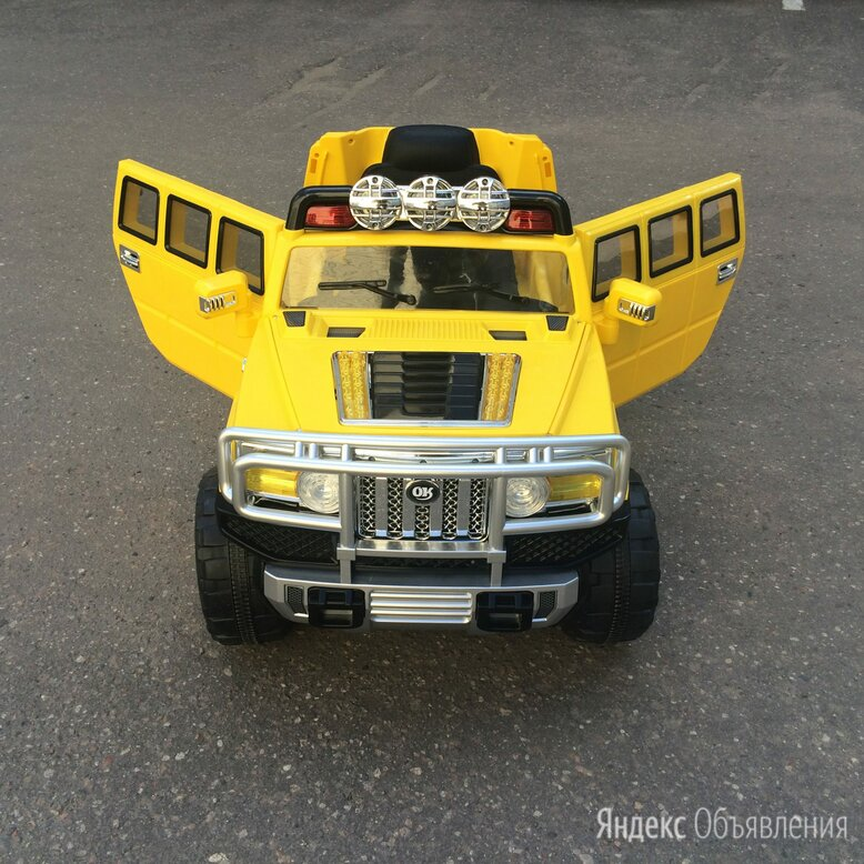 Детский электромобиль Joy Automatic Hummer H3 JJ255 по цене 17500₽ - Электромобили, фото 0
