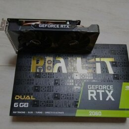 Видеокарты - Видеокарта Palit rtx 2060 dual, 0