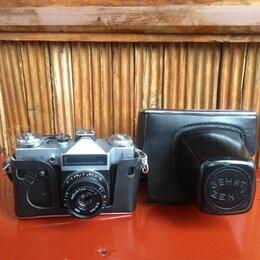 Пленочные фотоаппараты - Фотоаппарат Зенит-Е 1980г, 0