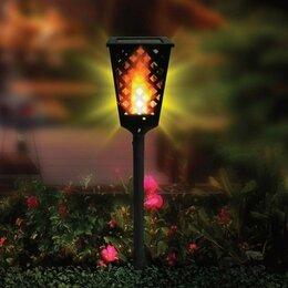 Уличное освещение - Уличный фонарь на солнечной панели, 0