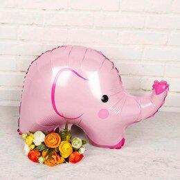 Мягкие игрушки - Слоник, розовый, 0