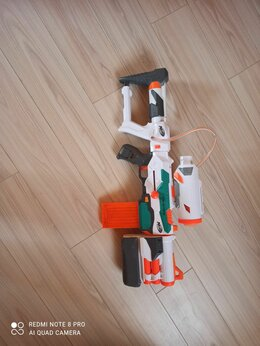 Игрушечное оружие и бластеры - Бластер нерф, 0