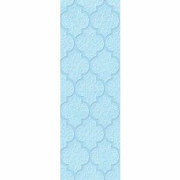 Керамическая плитка - Декор Alisia blue голубой 02 30х90 (5шт), 0