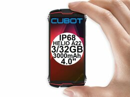 Мобильные телефоны - НОВЫЕ защищённые Cubot King Kong Mini 2 Red IP68…, 0