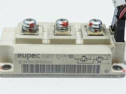 Источники бесперебойного питания, сетевые фильтры - Модуль IGBT Eupec BSM100GB120DN2 1200V 100А 800W, 0