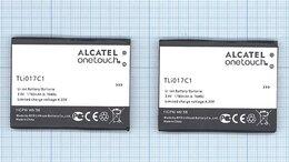 Аккумуляторы - Аккумуляторная батарея TLi017C1 для Alcatel PIXI…, 0
