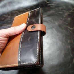 Кошельки - Мужское портмоне (тревелер) из кожи ручной работы, 0