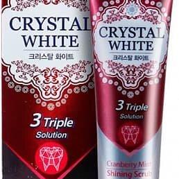 Зубная паста -  Зубная паста отбеливающая с ароматом клюквы и мяты MUKUNGHWA Crystal White ..., 0