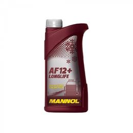 Масла, технические жидкости и химия - Антифриз Mannol (SCT) AF-12+ Longlife (1л) концентрат красный 2032, 0