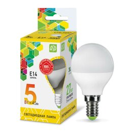 Лампочки - Лампа светодиодная  5,0W Е14 Led 3000К теплый…, 0