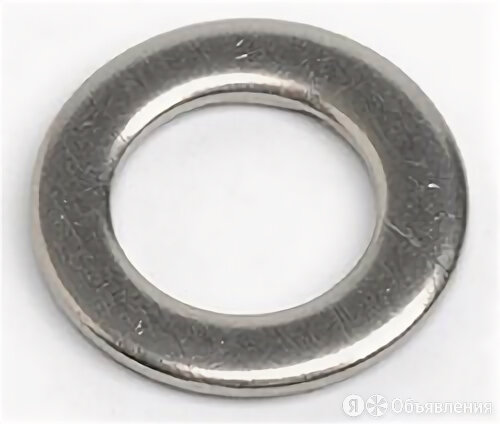 S+P Шайба круглая плоская с уменьшенным внешним диаметром DIN 433 Ф13(М12) по цене 11₽ - Шайбы и гайки, фото 0