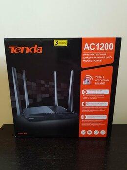 Проводные роутеры и коммутаторы - Роутер Tenda AC1200 новый, 0