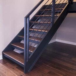 Лестницы и элементы лестниц - Лестницы на металлокаркасе, 0