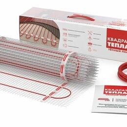 Электрический теплый пол и терморегуляторы - Теплый пол под плитку - нагревательный мат, 0