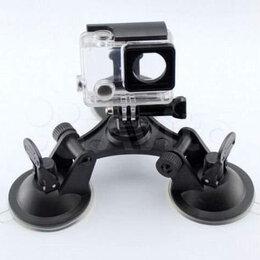 Аксессуары для экшн-камер - Крепление камер GoPro на трёх присосках, 0