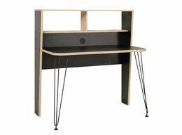 Компьютерные и письменные столы - Стол компьютерный Базис-3 12.67 Черный/Дуб…, 0