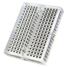Наборы для исследований - Breadboard 170 точек прозрачный (с креплениями), 0