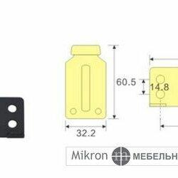 Комплектующие - Комплект роликов и направляющих для сборки 3-х дверного шкафа-купе, 0