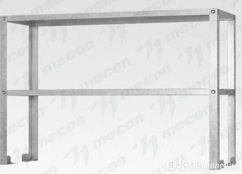"Полка-надстройка настольная ПННб - 1000*400*800 ""Base"", цинк, 2 уровня по цене 5951₽ - Кровати, фото 0"