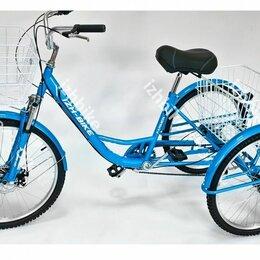 Велосипеды - Велосипед трехколесный взрослый Фермер IВ-3W 24''6 скор., 0