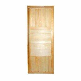 Двери - Посад Дверь банная глухая (сорт А) 1800*700, 0