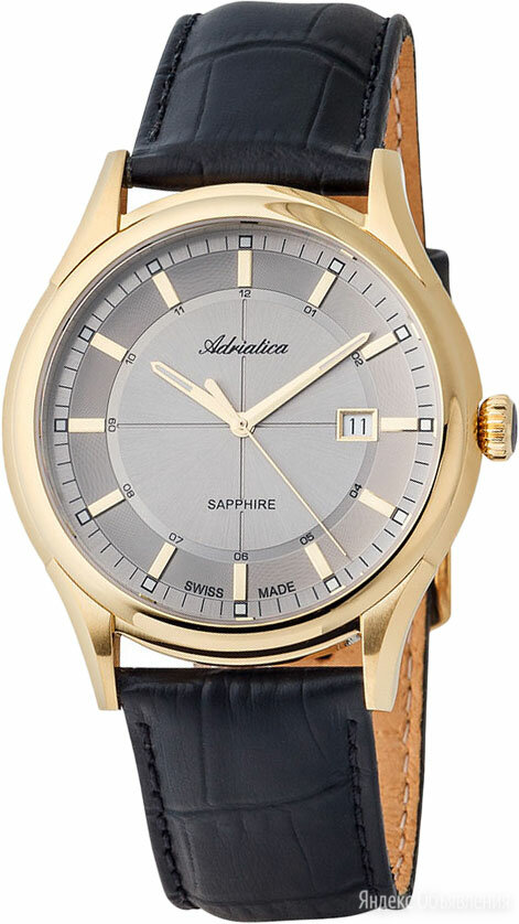 Наручные часы Adriatica A2804.1217Q по цене 19900₽ - Наручные часы, фото 0
