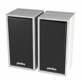 Компьютерная акустика - Колонки компьютерные PERFEO Cabinet белый, 0