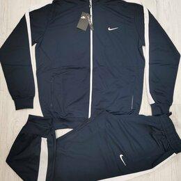 Спортивные костюмы - (54-62) Мужской спортивный костюм Nike, 0