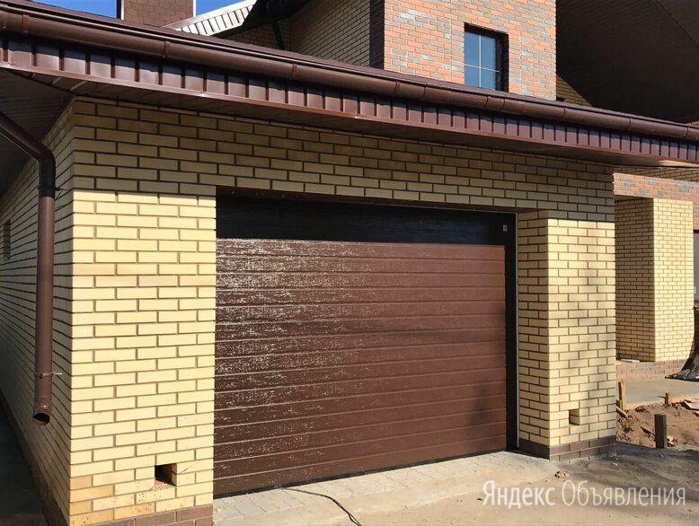 Ворота секционные 2700*2250 по цене 59523₽ - Заборы, ворота и элементы, фото 0