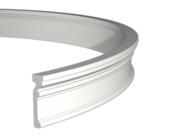 Лепнина - Молдинг гибкий из полиуретана 1.51.347 Европласт…, 0