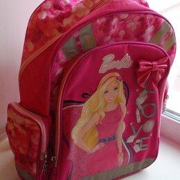Рюкзаки, ранцы, сумки - Рюкзак школьный розовый «Барби». Размер 38*29*13см. Новый. , 0
